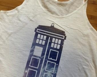 Doctor Who TARDIS tank // Women's Tank
