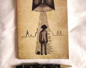 Mini Notebook- Take Me To Your Reader- A6 Blank sketchbook