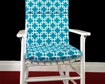 Rocking Chair Inserts And Covers, Turquoise Rocking Chair Covers