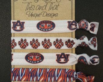 Auburn Tigers Hair ties or Wrist ties