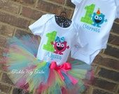 Boy/Girl Twin Monster Mash Party Themed Birthday Outfits, Twin Monster Party Outfits, Monster Twin Birthday Sets
