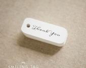 Miniature Thank You Gift Tags - Wedding Favor Tags - Thank You Gift Tags - Hang tags - Wedding Gift Tags - Set of 40 (Item code: JS244)