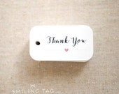 Thank You Wedding Favor Tags - Gift Tags -  Favor Tags Wedding - Bridal Shower Tags - Set of 40 (Item code: J538)