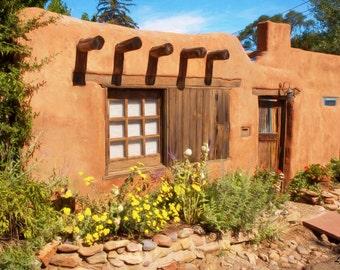 Adobe Living in Santa Fe