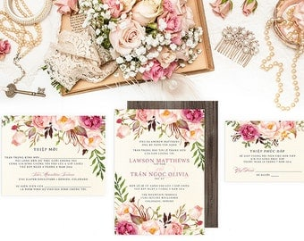 wedding invitations bilingual invitationsinvitationsbytiffany, invitation samples
