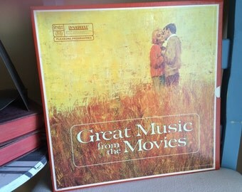 Great Music From The Movies Four Record Box Set Reader's Digest Music Collection 1967 Hours of Great Music Romance to Westerns