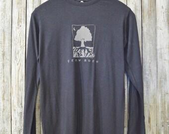 Grow More Bamboo & Organic Cotton Long Sleeve T-Shirt for Men