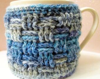 Crocheted Mug Cosy Kit