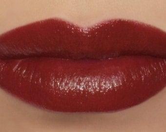 "Vegan Red Lipstick - ""Carnelian"" (natural soft red lipstick) lip tint, balm, lip colour mineral lipstick"