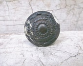 Drawer Pull, Salvage, Victorian, 1800s, Knob, Architectural, Cast Bronze, Hardware, Industrial, Props, Altered Art, All Vintage Man