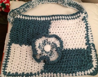 Crochet Patchwork Purse