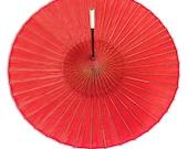 Vintage Japanese Parasol (paper umbrella). Wagasa. Karakasa. Bamboo and Washi Umbrella.
