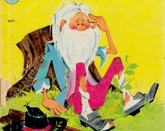 Rip Van Winkle adapted from Washington Irving's legend by Dorothy Bell Briggs, illustrated by Anne Sellers Leaf