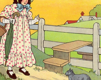 The Real Mother Goose - illustrated by Blanche Fisher Wright