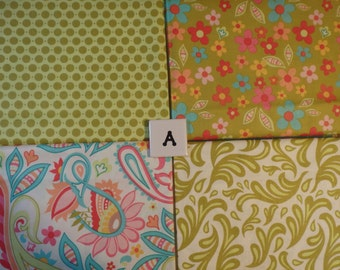 Sweet Nothings, by Zoe Pearn for Riley Blake Designs -- Four Half Yards (2 sets available)