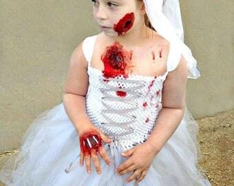 Add on Zombie Bride Veil