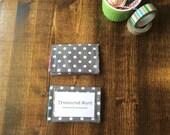 Scripture Memory Verse Wallet - Polka Dot