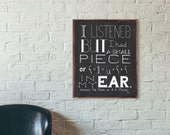 Winnie The Pooh Quote, Funny Quote, A. A. Milne Quote, Quote Print, Funny Quote Print