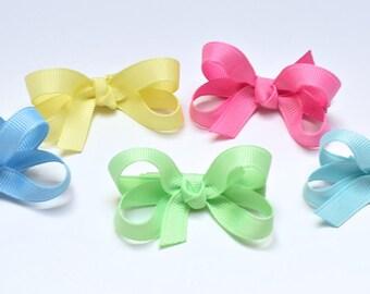 Baby Hair Bows, Girls Hair Bows, Toddler Hair Bows, 2 Inch Bows