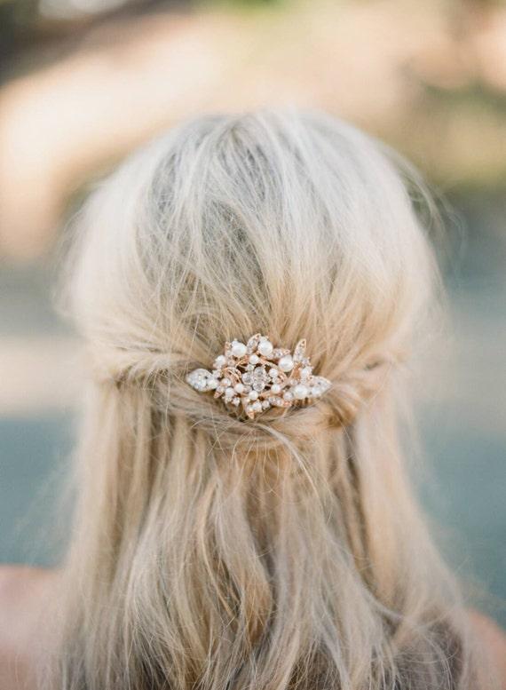 EDNA Rose Gold Comb