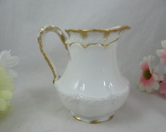 1894-1931 Vintage Haviland & Cie Limoges France Creamer - Charming