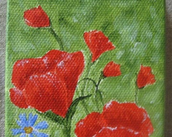 Mini_Painting, Poppies