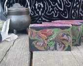 Baba Yaga's Cold Process Soap- Baked apple pie, cozy oak, fresh herbs