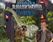 Jurassic World/Dinosaur Printable Party Invitation - with Photo
