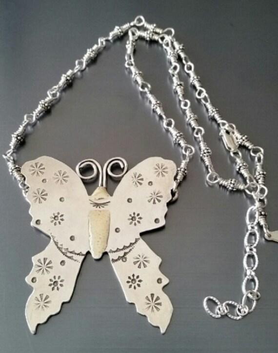 Sterling Butterfly