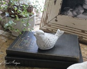 Chippy Which Cast Iron Bird Birdie Metal  Farmhouse French Country Chic Vintage
