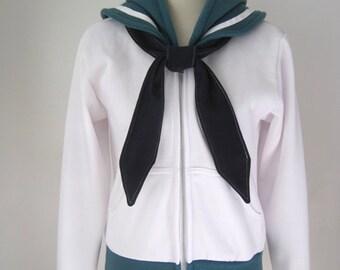 Sailor Neptune Seifuku Cosplay Costume Hoodie Jacket