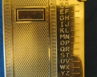 Vintage Pocket Telephone Personal Directory