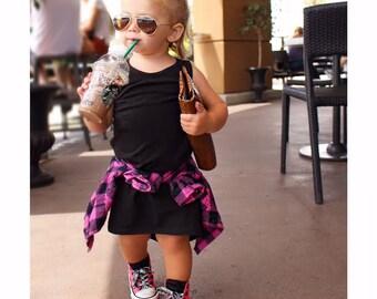 Girls maxi dress, girls birthday dress, maxi dress, toddler dress, flower girl dress, hipster dress, summer maxi dress, black dress