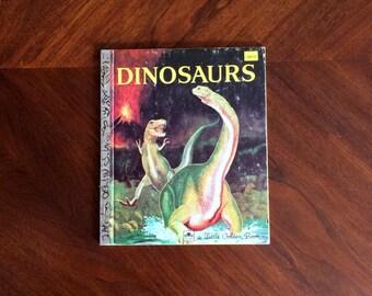 Dinosaurs Vintage Little Golden Book 1959