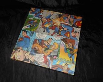 Superman Box canvas 20cm x 20cm