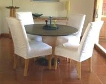 Custom Parsons Chair Slipcovers