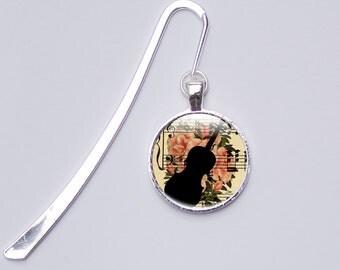 Music Bookmark, Musical Metal Bookmark, Music Gifts for Her, Bookmarks for her - Photo Bookmark (bookmarks 3)