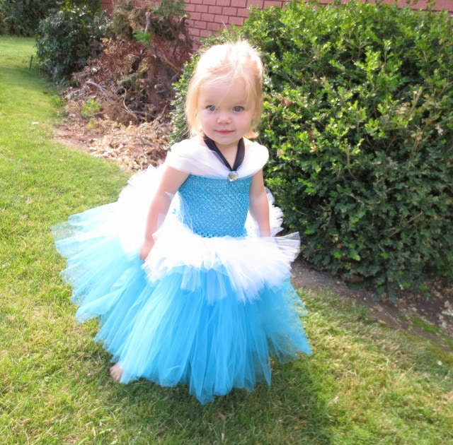 Cinderella Tutu Dress Halloween Princess Dress Up Photo