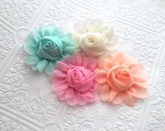 The Chiffon Blooms Headband or Clip
