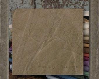 Fabric 1 YARD: Aged Muslin Cloth (New) - Muddy Water 138D Marcus Fabrics