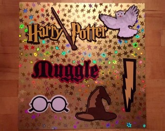 Harry Potter Scrapbook Diecuts