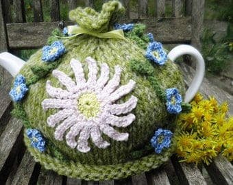 Flower of the Month Tea cosy