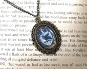 Ravenclaw Wit and Learning Vintage House Pride Necklace