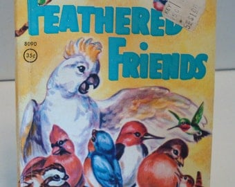 """Vintage """"Feathered Friends"""" By Mabel Watts - Circa 1957 - Excellent Vintage Condition!!"""