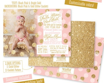 one year old invite  etsy, invitation samples