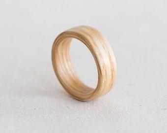 Natural Wood Ring - Tasman Oak
