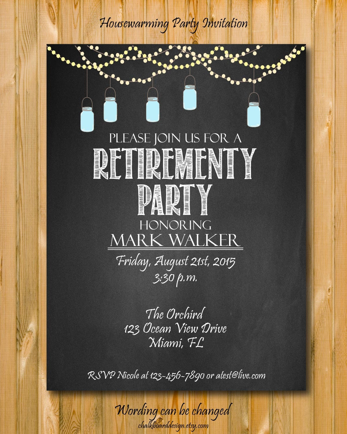 It's just a photo of Clever Free Printable Retirement Invitations