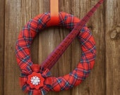 An eye-catching decoration to celebrate Christmas, Hogmanay or Burns Night
