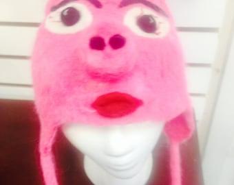 Novelty Miss Piggie Hat