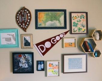 The Do Good Felt Pennant